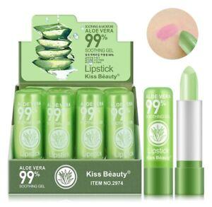 New Natural Aloe Vera Lipstick Moisture Lip Balm