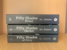 FIFTY SHADES OF GREY by E.L. JAMES * SET OF 3 BOOKS