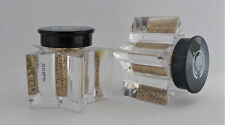 The Body Shop Gold Glitter Dust Cheek Decolletage Face Star Shape Bottle 1.5g x2