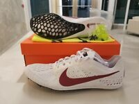 Nike Zoom Victory 3 Stanford Track White Maroon Red Shoes Mens SZ ( AA6445-160 )