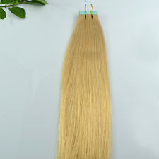 """Remy AAA 50g 60g 70g Straight / Wavy 12"""" 24"""" Tape In 100% Human Hair Extensions"""