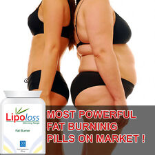 LIPOLOSS FAT BURNER PILLS TABLETS EXTRA STRONG LOSE WEIGHT FAST BURN YOUR FAT