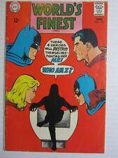 WORLD'S FINEST #176  [1968 VG-FN] SUPERMAN BATMAN SPLIT!