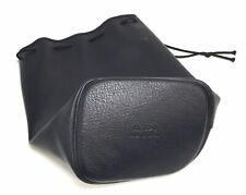 Genuine Canon Lens Black Leather Case Pouch XL SC-3