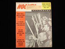 December 1963 Hockey Pictorial Magazine - Chicago Blackhawks Cover