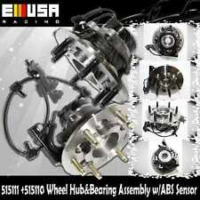 Front Side Wheel Hub Bearing Assembly fit 04-08 Chevy Colorado 4WD 515110 515111