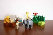 Lego Duplo Town Zoo Set 4962-1 Baby Zoo 100% complete