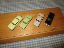 4 x  Wiking/Eko 1;87- Ford Comet etc-Unboxed