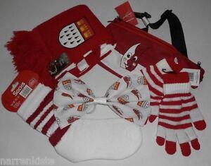 Köln Hut Kostüm Kölnkostüm Schal Rot Weiß Handschuhe Stulpen Schmuck Kleid Kappe