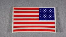 "American Flag Vinyl Window Sticker Decal  3""x 5""  USA  Lot of 2 NEW"