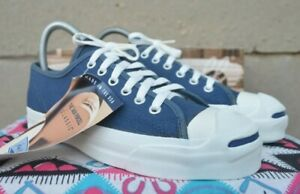 Converse Jack Purcell Vintage Rare Canvas Deadstock OG MADE IN USA 5 NWB