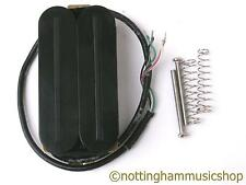 Guitare électrique noir cou position hot rail humbucker pickup bobine split LP nouveau