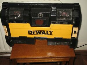 DeWalt Tough system DWST1-75663 DAB Site Radio. BARE UNIT with POWER SUPPLY UNIT