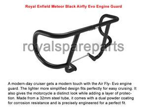 Genuine Royal Enfield Meteor 350 Airfly Evo Engine Guard Black