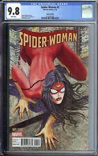Spider Woman #1 CGC 9.8 Manara Variant Cover 1:50 Recalled 2015 Marvel Comics