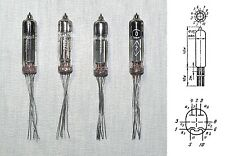 4x 6N21B = 6112 Russian Lf Voltage Hi-mu Double Triode tube