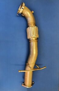 """Ford Focus Mk2 ST/RS 3"""" Downpipe Stainless Steel"""