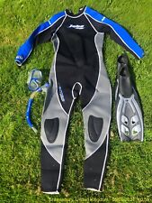 Wetsuit Package - Jobe Extra 3.0 / 2.5 XL/54 full size plus fins, mask, snorkel