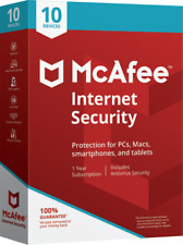 New!!!! McAfee Internet Security 2018-10 Devices