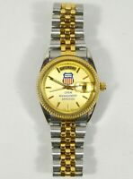 RARE UNION PACIFIC Railroad / Barlow Crew Management Mens Watch AS IS