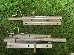 Sliding Door Bolt Lock Heavy Duty Steel 170 mm x 55mm pack of 2