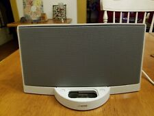 Bose Sounddock Music System White iPod iPhone 30 Pin Speaker Dock Tested no