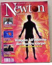 NEWTON OGGI - Viaggio all'interno del nostro corpo [N. 3 - marzo 1998]