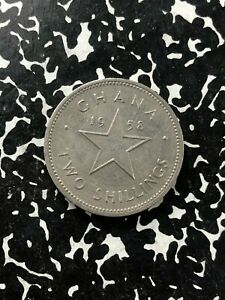 1958 Ghana 2 Shilling (Many Available) Circulated (1 Coin Only)
