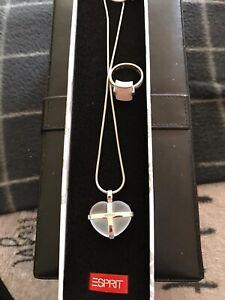 ESPRIT Kette Und Ring, Silber