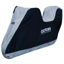 Oxford CV207 Aquatex Protecting Motorcycle Rain Cover with Top Box Sissy Bar XL