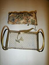 """Vintage  Antique Brass Doll Bed   Miniature Dollhouse  GERMANY 4"""""""