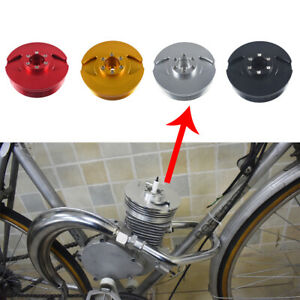 Colorful CNC Cylinder Head Fits Racing 66cc 80cc Motorized Bicycle Bike Parts