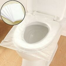 New Disposable Toilet Seat Cover Sanitary Hotel Closestool Travel Supplies 6PCS