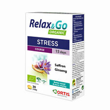Ortis Organic Relax & Go - Stress - 30 Tablets