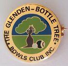 The Glenden Bottle Tree Bowling Club Badge Pin Rare Vintage (M12)