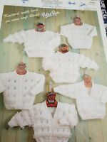 vintage baby knitting patterns dk
