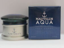 Nautilus Aqua by Nautilus For Men 1.7 oz Eau de Toilette Spray New In Box Sealed