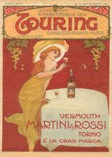 Vermouth Martini & Rossi, Italy, 1912, Vintage Beers, Wines & Spirits Poster