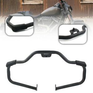 Steel Mustache Engine Guard Highway Crash Bar For Harley Sport Glide FLSB 18-20