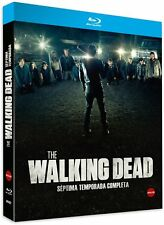 THE WALKING DEAD BLU RAY TEMPORADA 7 COMPLETA SEPTIMA 7ª NUEVO ( SIN ABRIR )