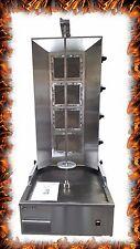 NEW COMMERCIAL GAS 4 BURNER DONNER KEBAB MACHINE Natural Gas & LPG DONER MACHINE