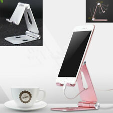 Angle Adjustable Aluminum Tablet Mount Cell phone stand for desk Desktop Holder