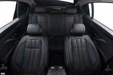 Pour Mazda 5 6 Noir Similicuir Souple avant & Arrière Voiture Siège Housses