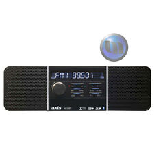 AXIS 12/24V AM/FM MECHLESS SHORT CHASSIS (120mm) MULTIMEDIA PLAYER w BLUETOOTH