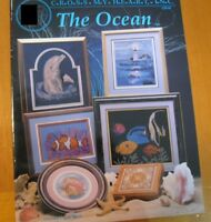 THE OCEAN  -  CROSS STITCH  LEAFLET