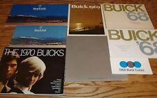 1958 - 1971 Buick Sales Brochure Lot of 23 59 60 61 63 64 65 66 67 68 69 70