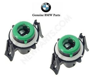 X2 Front Turn Signal Light Bulb Holders Socket Genuine For BMW 63131384100 Lamp