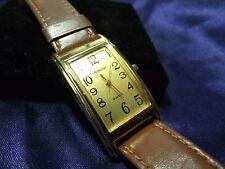 Woman's Amitron Watch with Genuine Leather Band**Nice** B15-153