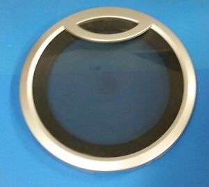 WH46X10125  WH46X10127  GE Washer  Door Frame w/Cover; B1-4b