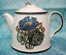 Large Wedgwood Iona Teapot 4 Person Size Made in England